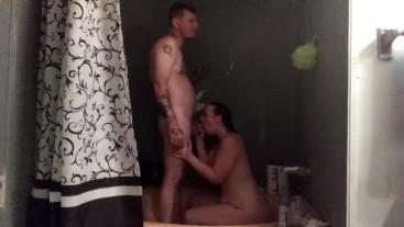 sensual shower sex