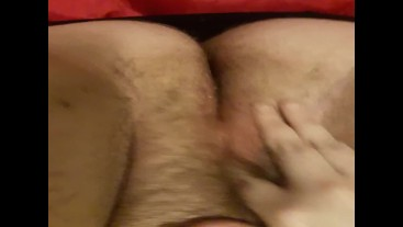 Orgasm Contractions Hairy BBW Pussy