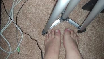 College Guy Feet