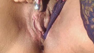 Big Juicy clit cum p2