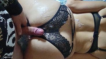 Watching Porn Making Porn Wearing PornHub Apparel - Tight MILF, Huge Load