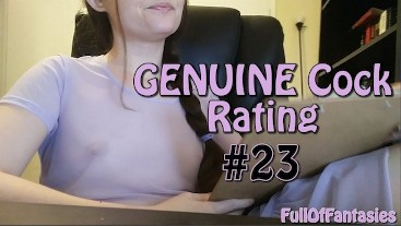 Genuine Cock Rating #23  Adorable, but in a manly way. ♥ FullOfFantasies