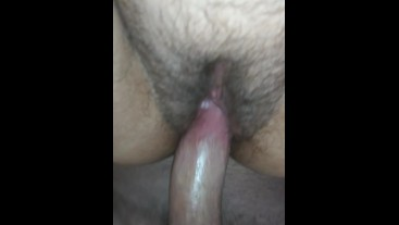 Creampie my squirting pussy doggystyle dripping pov