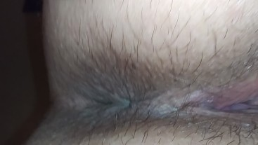 Closeup of Cum filled squirting cunt taking multiple loads