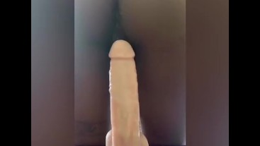 Phone Sex! Best dildo ride Twerking on the Dick Compilation