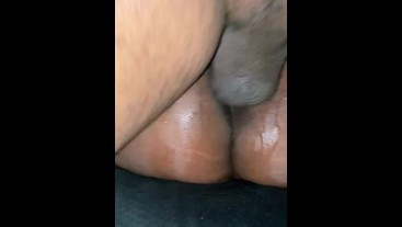 Non stop Squirting on Daddy Dick