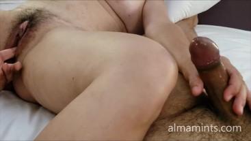 almamints - he masturbates me and I masturbate him