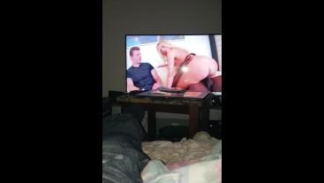 Watching porn