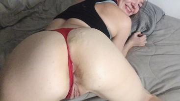 Big ass cumshot!