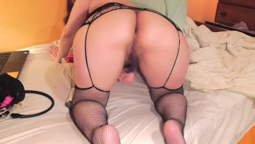 Making my Pussy Orgasm in Doggy-Style