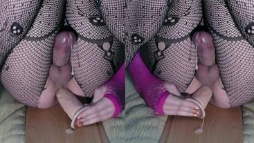 Hot Anal Orgasm From Fucking Dildo 4k ( sissygasm trap femboy cd )