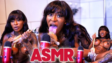 ASMR JOI listen how I satisfy myself with the brush & bring you to orgasm