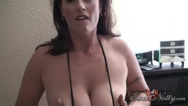 Strip Tease At Home