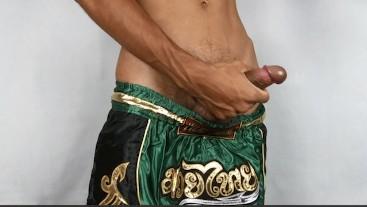 Handjob thai boxing thai boy | Jack off boxing thai boy part 3
