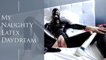 Hot Girl Fills Herself with Toys and Has Insane Orgasm While All in Latex
