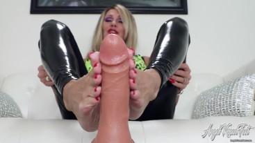 Your Cock Between My Soles - Nikki Ashton