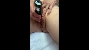 Behind the Scenes: MILF Trims Pussy for Fuck Session - Then Solo Squirts!