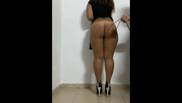 PREVIEW Spanking and caned her ass latín goddess