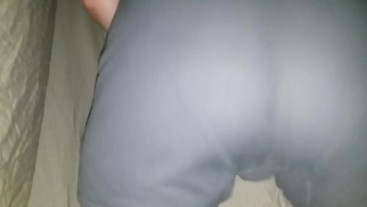 Jerking Off After Shaking, Spanking, Bouncing, Rimming, & Spreading His Ass For stepdaddy