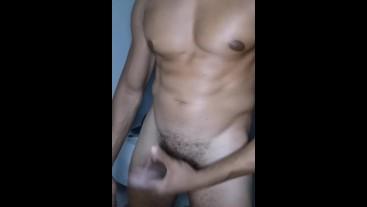 Webcam jerk off big cock