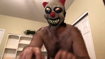 JOI: Hairy Scary Clown Gives Homophobe A Tickle