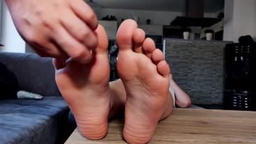 POV foot tickle