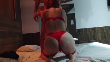 Real Couple Sex Tape In a Hotel Room Love After Shower