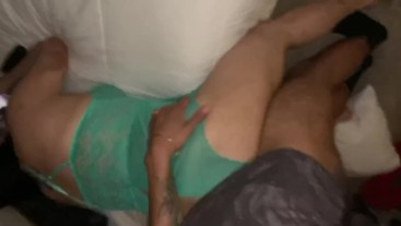 Daddy fucked me so good he made me squeal!
