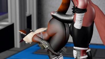 Public Gym Fuck Red Panda Cumflation Breeding - Second Life Yiff