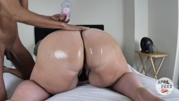 OILED UP BBW GETS A CREAMPIE - FULL VIDEO
