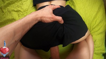 POV closeup doggystyle and reverse cowgirl with yummy bubbly creampie :D