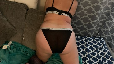 PAWG Milf couldn't decide what panties to get fucked in!