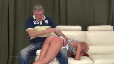 Cora's otk spanking 1809