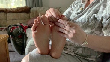 Why does a good foot rub have to end with a good tickle?