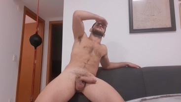 No jerking, just teasing you with my alpha cock