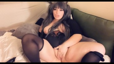 Fat Squirting Whore (Amateur Solo)