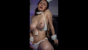 Rae Lil Black Anal Training - Bunny Costume