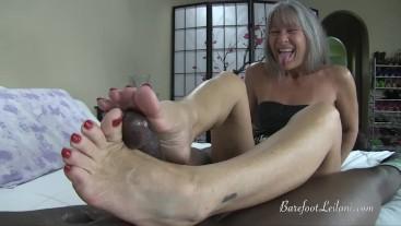 Insurance Agent's Foot Job
