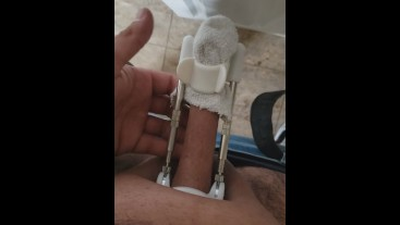 PENIS GROWTH DAY 34 ROUTINE SIZE INCREASE 5.5 INCHES TO 7.5 INCHES (HARDWORK AND DEDICATION)