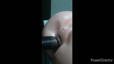 Caught with sex toy