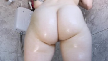 Soapy butt shaking