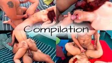 HOT BABE CUM AND CREAMPIE COMPILATION - LexxyLogan