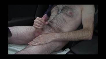 Car fun at roadside (short version)
