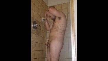 SHOWER TIME JUST HANDS