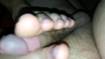 Footjob as requested! Like & subscribe for more