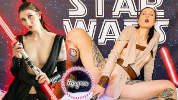 Rey CUMS To The Dark Side