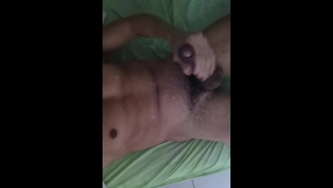 Jerking on my bed