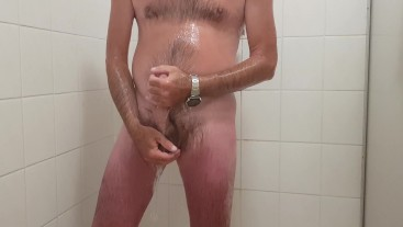 Guess what I really do in the shower -  Big dick daddy (hint: awesome cumshot)