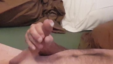 Trimming, shaving, masturbating afterwards, shaking orgasm - INSANE CUM!!! - Big Dick Daddy - Part 3