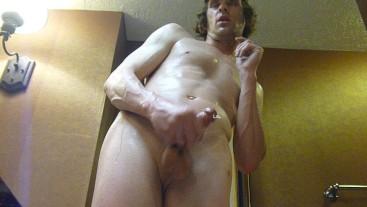Steamy Horny Bathroom Closeup